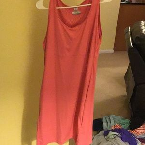 Athletic dress with pockets